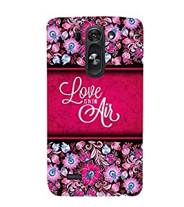 Love Is The Air 3D Hard Polycarbonate Designer Back Case Cover for LG G3 Beat :: LG G3 Vigor :: LG G3s :: LG g3s Dual
