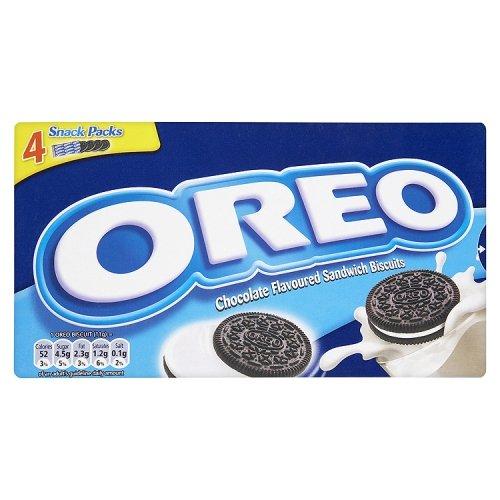 Oreo Cookies Vanilla 176 g (Pack of 12)