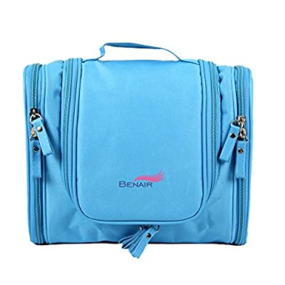 Best Cheap Deal for Travel Kit Organizer Bathroom Storage Cosmetic Bag Toiletry, Waterproof, Bag Blue from Queentools - Free 2 Day Shipping Available