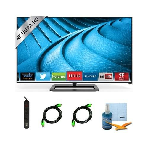 P702Ui-B3 - 70-Inch 4K Ultra Hd 240Hz Smart Led Smart Tv Plus Hook-Up Bundle. Bundle Includes Tv, 3 Outlet Surge Protector With 2 Usb Ports, 2 -6 Ft High Speed 3D Ready 1080P Hdmi Cable, Performance Tv/Lcd Screen Cleaning Kit, And Micro Fiber Cleaning Clo