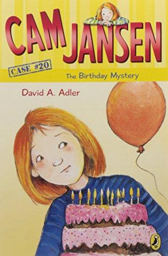 CAM Jansen: The Birthday Mystery #20 (Cam Jansen Adventure)