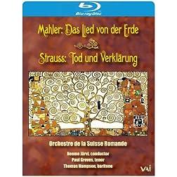Mahler: Das Lied von der Erde / Strauss: Tod und Verklärung [Blu-ray]