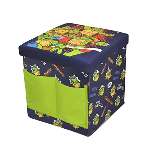 Ottoman To Sit On Of Nickelodeon Teenage Mutant Ninja Turtles Sit And Store