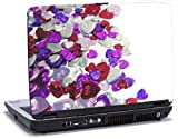 Confetti - Lapjacks adhesive vinyl sticker to fit Dell Latitude D620/D630 laptops