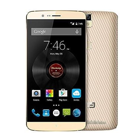 "Elephone P8000 téléphone smart d'octa core 360°Touch ID d'empreintes digitales 4G FDD-LTE 64bits MTK6753 Smartphone FHD 5.5"" IPS 5.1 Android 3GB RAM 16GB 5MP ROM 13MP double caméras"