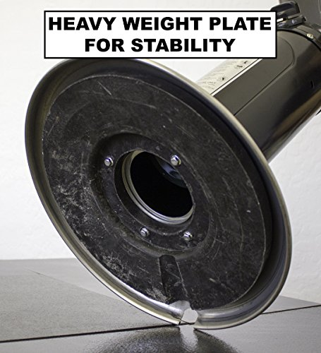 AZ-Patio-Heaters-HLDS032-BSS-Portable-Table-Top-Stainless-Steel-Patio-Heater-Black
