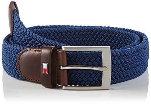 Tommy Hilfiger NEW ADAN BELT-Cintura Uomo, Blau (VINTAGE INDIGO 462), 105