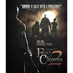 Fear Of Clowns 2 Blu Ray [Blu-ray]