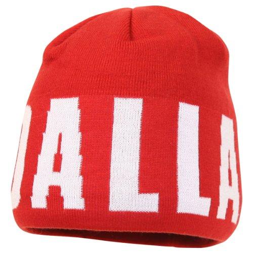 Adidas Mls Wrap Around Winter Knit Hat / Beanie - Fc Dallas
