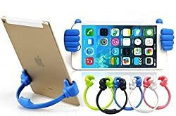 Tartarus Universal Flexible Cute Thumb Designed Smartphone Tablet Desk Table Stand Display Mount Holder for Mobile Cell Phone iPad Mini iPhone 6 Plus + 5S 5C 5 Samsung Galalxy S3 S4 S5 NOTE 2 3 4 HTC Sony Nokia LG Motorola Blackberry,
