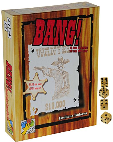 Bang-4th-Edition-Card-Game--Bonus-4-Gold-Pearlized-Swirl-d6-Game-Dice--Bundle