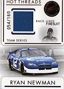 Buy 2007 Press Pass Premium Hot Threads Ryan Newman #To 160