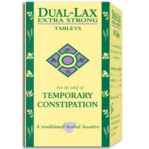 Dual Lax Extra Strong Tablets 100's