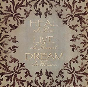 Heal Live Dream Poster by Stephanie Marrott (12.00 x 12.00)