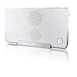 V7 Bluetooth Wireless Speaker and Stand (SP5500-BT-WHT-9NC)