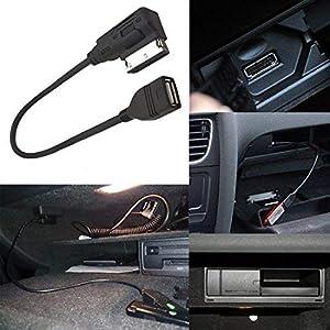 CHELINK Audi AMI MMI USB Cable Audio MP3 Music Interface Adapter for Audi A3 A4 S4 A6 S6 A8 Q5 Q7 R8 TT Volkswagen Jetta GTI GLI Passat CC Tiguan Touareg EOS