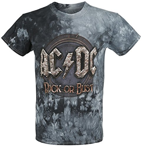 AC/DC Rock Or Bust Tour 2016 T-Shirt blu M