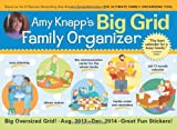 img - for 2014 Amy Knapp's Big Grid Family wall calendar: The essential organization and communication tool for the entire family book / textbook / text book