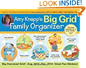 #10: 2014 Amy Knapp's Big Grid Family wall calendar: The essential organization and communication tool for the entire family