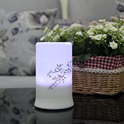 Signstek 100milliliter Aroma Diffuser Ultrasonic Air Humidifier Color Changing LED Light