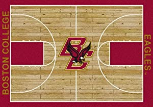 NCAA Court 7 ft. 8 in. x 10 ft. 9 in. Rug by Milliken