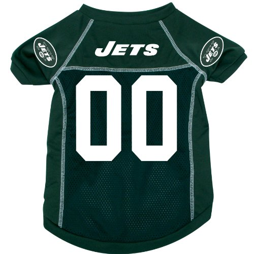 Hunter MFG New York Jets Dog Jersey, Extra Large