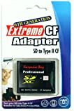 Komputerbay SD / SDHC / MMC Card to Compact Flash Type II High Speed Adapter