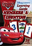 Disney Pixar Cars Learning Flash Cards - Numbers & Counting