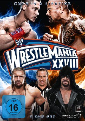 WWE - Wrestlemania XXVIII [3 DVDs]