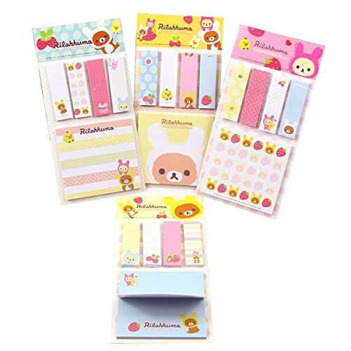 cute-strawberry-bear-sticker-bookmark-point-it-marker-memo-flags-sticky-notes