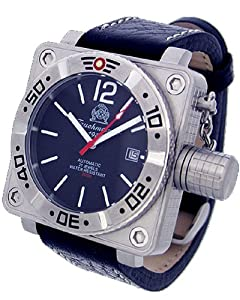 """German automatic diver watch with japan movt. """"special crown system"""" T0143"""