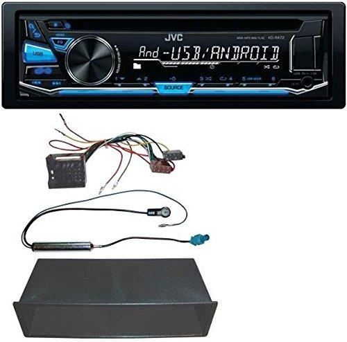 JVC-CD-MP3-USB-Autoradio-fr-VW-Polo-Lupo-Fox-Passat-T5
