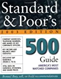 img - for Standard & Poor's 500 Guide : 2003 Edition by Standard & Poor&s (2002-12-20) book / textbook / text book