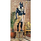 Design Toscano The Grand Ruler Life-Size Anubis Sculpture