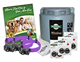 PetSafe Wireless Pet Containment System PIF-300 With 2 Extra Packs of Batteries (2 Dog)