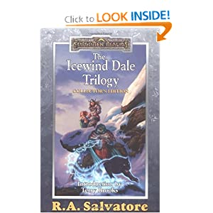 The Icewind Dale Trilogy: Collector's Edition (A Forgotten Realms Omnibus) by R.A. Salvatore and Terry Brooks