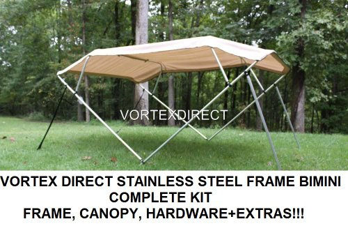 NEW TAN/BEIGE STAINLESS STEEL FRAME VORTEX 4