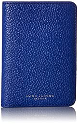 Marc Jacobs Gotham City Slgs Passport Cover ID Holder, Cobalt Blue, One Size