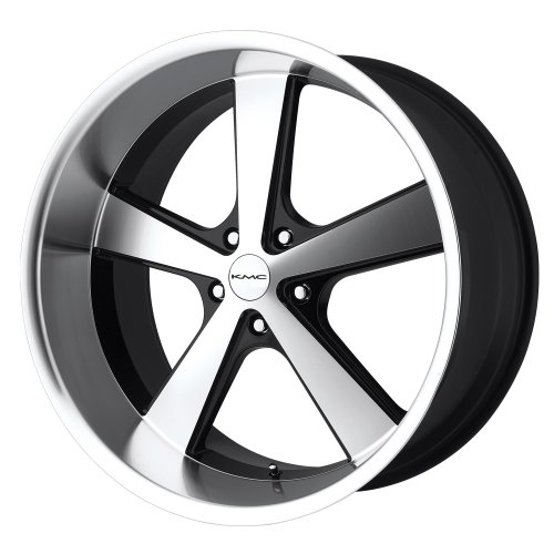 "Kmx Wheels Nova Km701 Gloss Black Wheel With Machined Face (20X10""/5X114.3Mm)"
