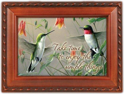 Hummingbirds Music Box