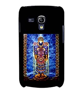 printtech Lord God Balaji Back Case Cover for Samsung Galaxy S3 Mini::Samsung Galaxy S3 Mini i8190