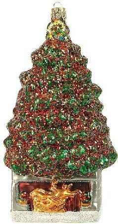 Rockefeller Center Christmas Tree Polish Glass Ornament