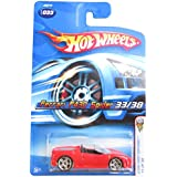 2006 First Editions #33 Ferrari F430 Spider Red #2006 33 Collectible Collector Car Mattel Hot Wheels