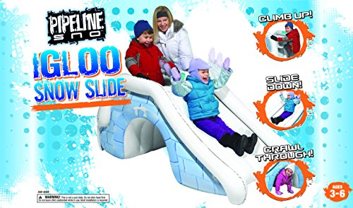Pipeline Igloo Snow Slide