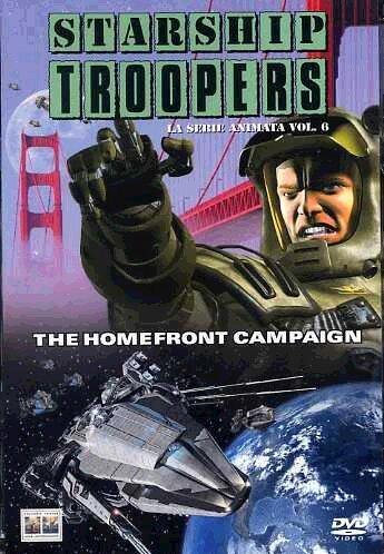 Starship troopers - La serie animata - The homefront campaignVolume06Episodi02-28 [Import italien]