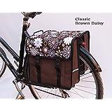 Beluko® Ladies Fashion Double Pannier Bag Bicycle Cycle Bike Women's - Mens