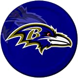 Creative Converting 8 Count Baltimore Ravens Paper Dinner Plates