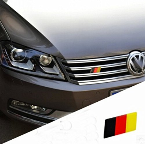 Volkswagen Jetta Price In Usa: JessicaAlbaGerman Flag Grille Emblem Badge Decal Sticker