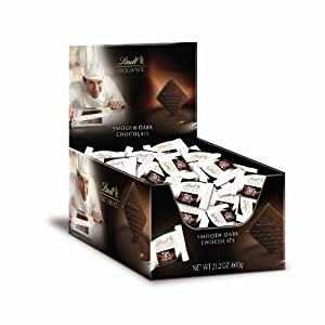 Lindt EXCELLENCE 70% Cocoa Chocolate Diamonds 60ct Box