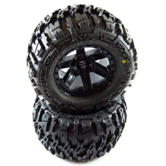 """Amazon.com: Proline 117012 Trencher 2.8"""" All Terrain Tires Mounted for"""